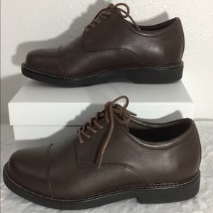 Apex Lexington Cap Toe Leather Oxford EVA Insole